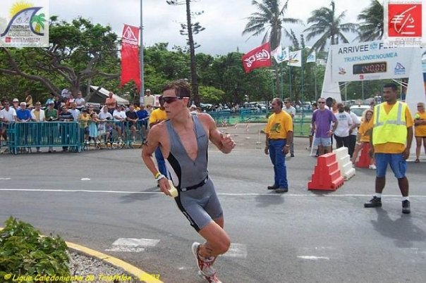 New Caledonia International Olympic Distance Triathlon 3rd Professional  Fastest run split of the day: 10k in just over 32min and